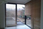 Bambusové žaluzie pro zastínění oken
