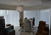 Elegantní zastínění kanceláří