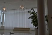 Zastínění kanceláří záclonovými žaluziemi