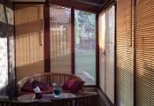 Realizace s bambusovými žaluziemi