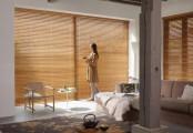 Elegantní bambusvá žaluzie