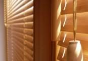 detail bambusové žaluzie
