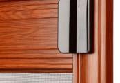 Detail sítě do dveří