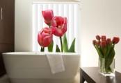 Žaluzie s potiskem tulipánu