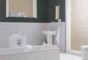 Horizontální žaluzie v koupelně