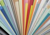 Vzorník barev lamel