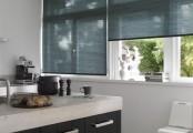Okenní rolety - látkové