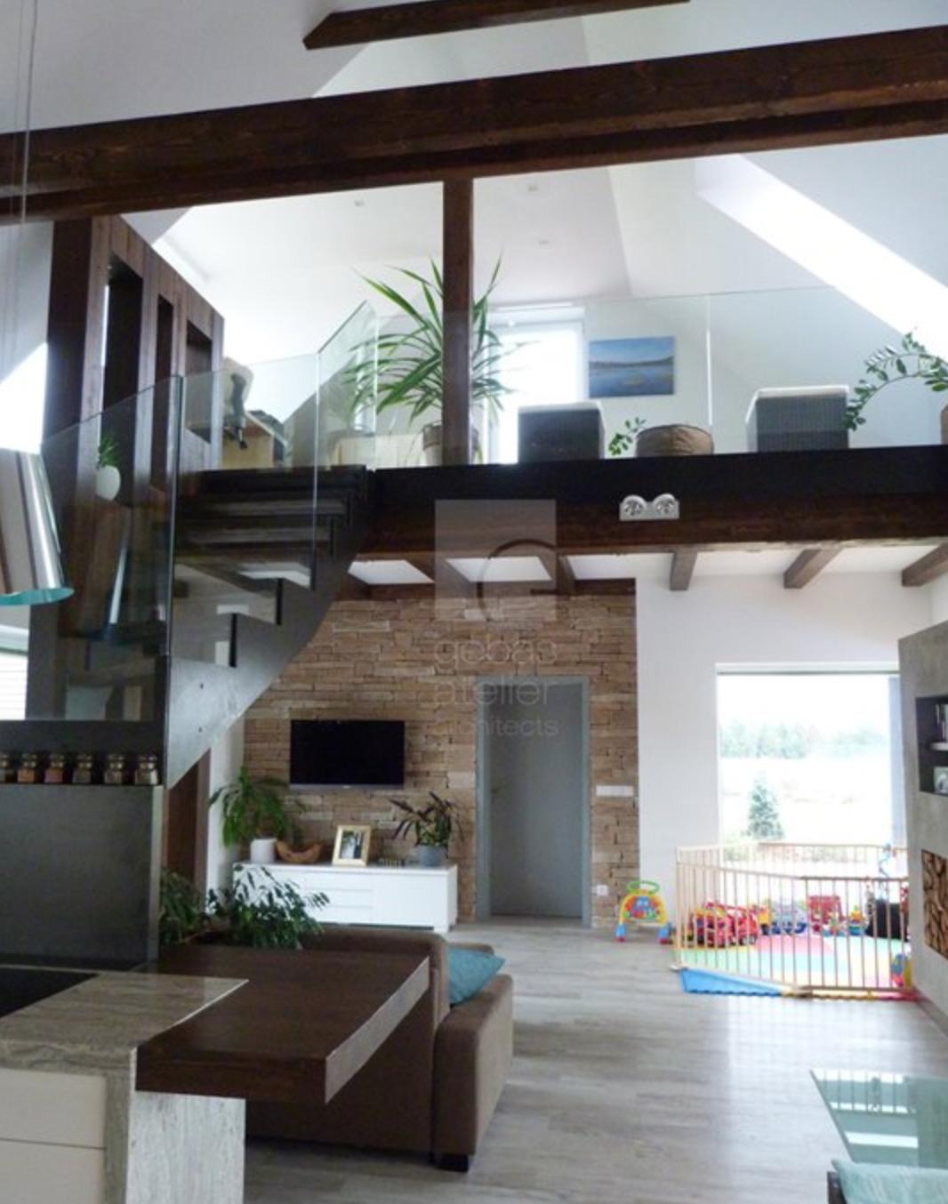 moderni dum interier