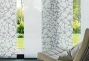 Stínící stěny se vzorem