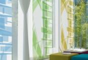 Elegantní posuvné stínící stěny