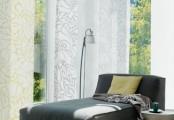 Stínění interiéru pomocí posuvných stěn
