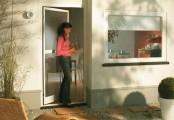 Síť do dveří