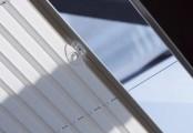Detail plisé žaluzie