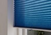 Barevné plisé žaluzie - modré