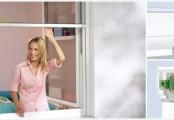 Síť do oken proti hmyzu - rolovací
