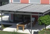 Zastínění teras xline